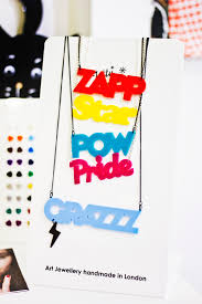 Make Your Own Name Necklace Make Your Own Tatty Devine Shiny Thoughts