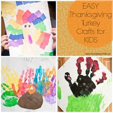 simple thanksgiving turkey crafts for kids chasing supermom