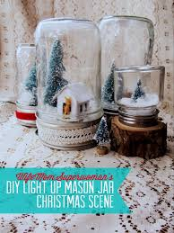please re pin diy light up mason jar christmas scene how to