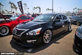 stanced nissan altima haters might six offset kings speedhunters