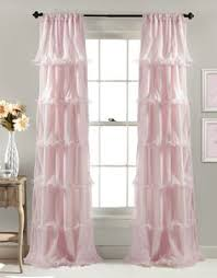 ruffle curtain panels whimsy design blog daily deals