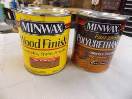 how to stain unfinished pine tips for one step polyshades minwax
