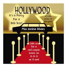 personalized red carpet invitations custominvitations4u com