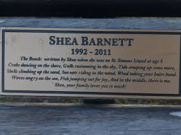 a bench for remembering u2013 jan l coates u2013
