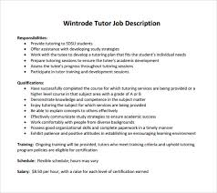 tutor description resume 28 images math tutor resume sales