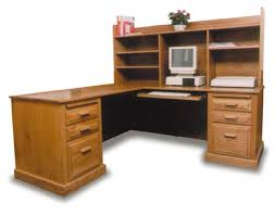 Oak Corner Computer Desk Amish Office Corner Computer Desk Amish Office Furniture Sugar