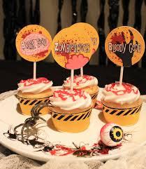 halloween u0027 zombie apocalypse u0027 cupcake wrapper template u2013 download