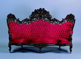Tufted Vintage Sofa Furniture Victorian Tufted Sofa Antique Victorian Loveseat