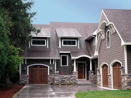 Gray Siding White Trim Black by Stunning Stones For Home Exterior Ideas Home Design Ideas