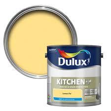 dulux kitchen bathroom paint colours chart dulux kitchen lemon pie matt emulsion paint 2 5l departments