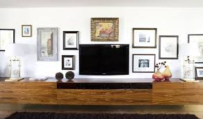Wide Floating Media Cabinet Tv Wall Ideas Pinterest Media