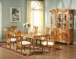 Light Oak Dining Room Sets Room Sets Formal Oak Rooms Pictures Light Finish Table With Light