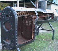 anatomy of antique steam boiler construction
