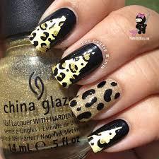cheetah nail foil wraps the crafty ninja