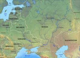 europe phisical map eastern europe physical map throughout geographical of