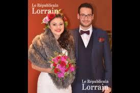 republicain lorrain mariage metz edition de forbach et kévin