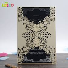 Folded Invitation Card Compare Prices On Wedding Invitations Fold Online Shopping Buy
