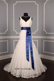 wedding doubled faced satin colored sashes sash