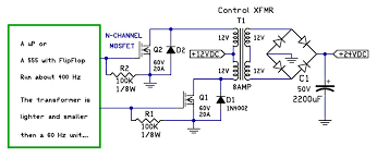how to convert 12v dc to 24v