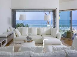 Contemporary Living Room Furniture Beach Style White Modern Medium - Beach style decorating living room