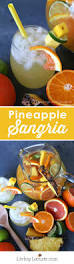 pineapple sangria best tropical cocktail party recipe