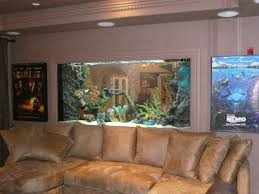 Aquarium Room Divider Digging This One The Most For The Movie Entertainment Room Big