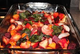Freezing Root Vegetables - maple balsamic roasted winter vegetables