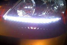 how to install led lights in car headlights 5 steps to install led lighting strip in headlights for toyota