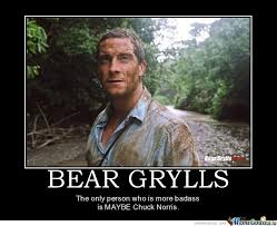 Chuck Norris Meme - bear grylls vs chuck norris by flox meme center