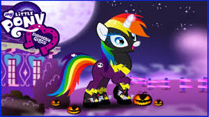 halloween pony dressup rainbow dash my little pony halloween