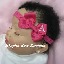 toddler hair bows personalized hair bows
