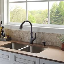 bronze pull down kitchen faucet tuscan bronze vosa 1 handle pull down kitchen faucet with soap