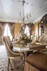 Marge Carson Bedroom Furniture by Marge Carson Dining Room With Holiday Table Setting Traditional