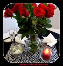 Red Roses Centerpieces Valentines Day Decorations Super Quick U0026 Easy Ideas