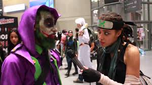 nycc assassin creed joker interview youtube