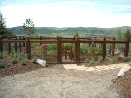 vegetable garden fence ideas landscape traditional with front yard