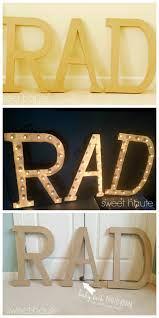 diy rad marquee lighted cinema letters sign tutorial sweet haute