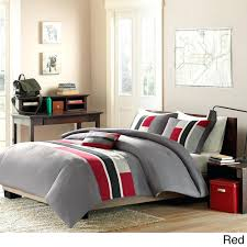bedding design fascinating red and grey bedding bedroom pictures