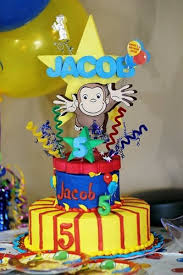 curious george cakes curious george birthday cake topper adianezh on artfire