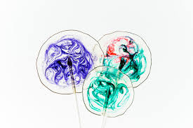 boozy homemade lollipops with swirls the road to honey