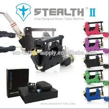 unique stealth rotary tattoo machine set gen 2 view tattoo