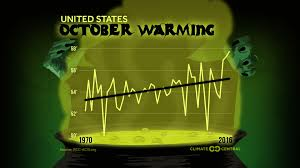 annals of global warming octobers in the u s are 2 f warmer