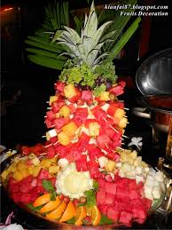 christmas buffet table decoration ideas fruit ideas tikspor
