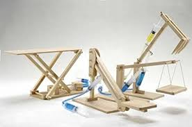 pathfinders hydraulic machines 4 in 1 wooden kit