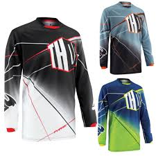 youth motocross jersey thor phase prism youth motocross jersey thor racing apparel