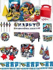 transformers party sets and kits ebay