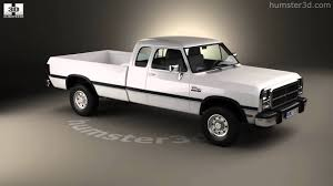 Dodge Ram Truck Models - dodge ram club cab 1991 3d model by humster3d com youtube