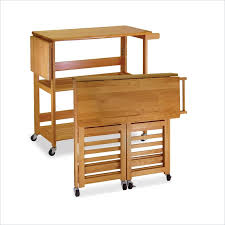folding island kitchen cart folding island kitchen cart w butcher block style top page 1 for