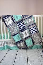 Navy And Coral Crib Bedding Nursery Beddings Coral Crib Bedding Plus Baby Bedding In