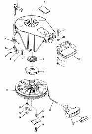 mercury marine 18 hp starter assembly manual parts